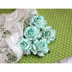 Чайная роза, цвет мята, 4см, 1шт