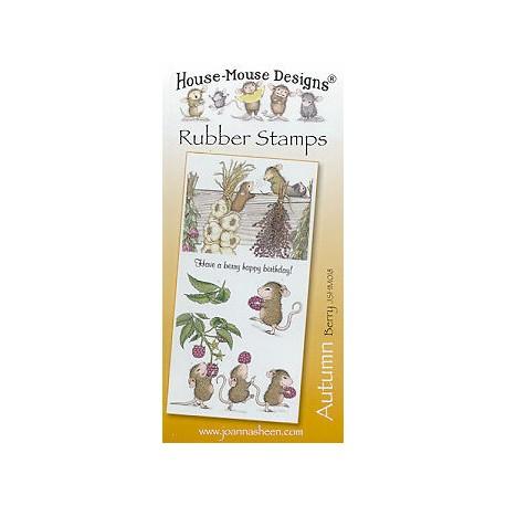 Штамп резиновый House-Mouse Designs, Autumn - Berry, 10.5*20.5см