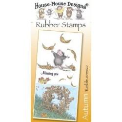 Штамп резиновый House-Mouse Designs, Autumn - Tumble, 10.5*20.5см