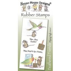 Штамп резиновый House-Mouse Designs, Feathered Friends - Flying High, 10.5*20.5см