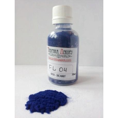 «Флок — Оксамит» - синий, 50мл