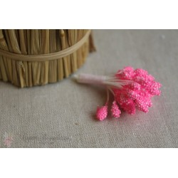 Тычинки махровые, розовые, 30шт.