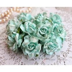 Дикая роза, цвет мятный, 4см, 1шт