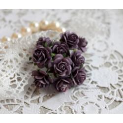 Роза, цвет фиолетовый, 1 шт.