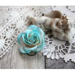Роза Шпалера, цвет белый с бирюзой, 1цветок