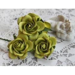 Роза Шпалера, цвет зеленый, 40мм, 1 цветок