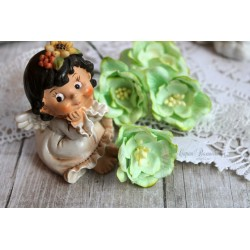 Цветок магнолии, цвет нежно-зеленый, 35мм, 1шт.