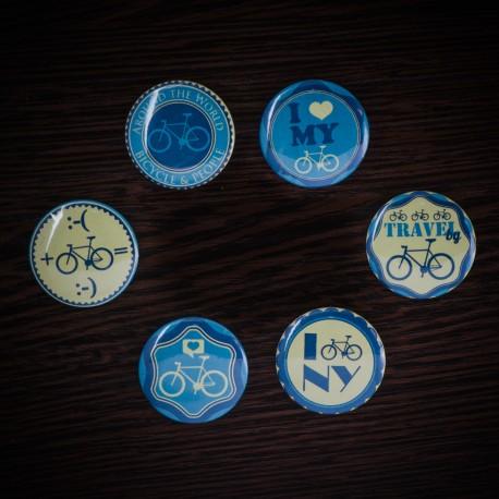 Набор фишек «Велосипеды»