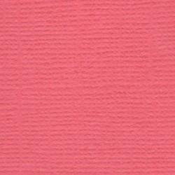 Кардсток текстурированный Ягодный леденец (коралловый), 30,5*30,5 см, 216 гр/м, 1л.