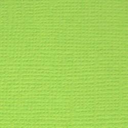 Кардсток текстурированный Зелёное яблоко (ярко-зелёный), 30,5*30,5 см, 216 гр/м, 1л.