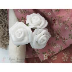Цветок Перистое облако, 2.8см, 1шт., цвет белый