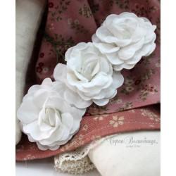 Цветок Белый лебедь, 4.6см, 1 шт., цвет белый