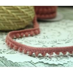 "Тесьма декоративная ""BLITZ"", цвет розовый, 10 мм  9.1 м  ±0.5 м"