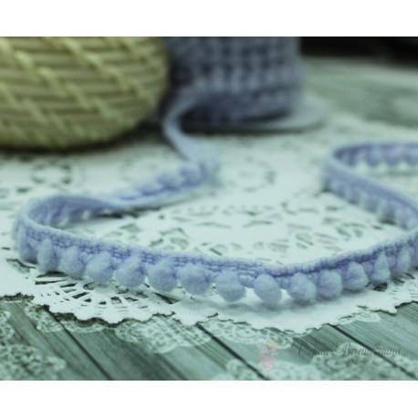 """Тесьма декоративная """"BLITZ"""", цвет светло-фиолетовый, 10 мм  9.1 м  ±0.5 м"""