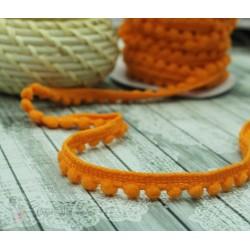"""Тесьма декоративная """"BLITZ"""", цвет оранжевый, 10 мм  9.1 м  ±0.5 м"""