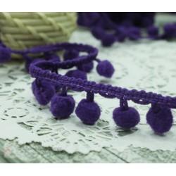 """Тесьма декоративная """"BLITZ"""", цвет фиолетовый, 21 мм  9.1 м  ±0.5 м"""
