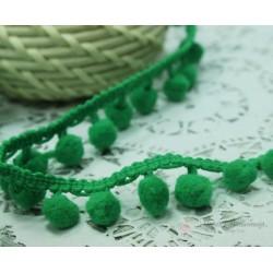 """Тесьма декоративная """"BLITZ"""", цвет зеленый, 21 мм, 1м"""
