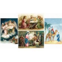 """Карточки """"Boże Narodzenie 3"""", 30.5*5см, 200гр/м"""