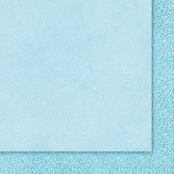 """Двусторонняя бумага """"Wielki Błękit 01"""", 30.5*30.5см, 200гр/м"""