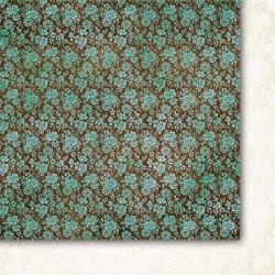 """Двусторонняя бумага """"Piękny umysł 01"""", 30.5*30.5см, 200гр/м"""