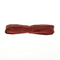 Бумажная рафия, темно-красная, 5м, 1 шт.