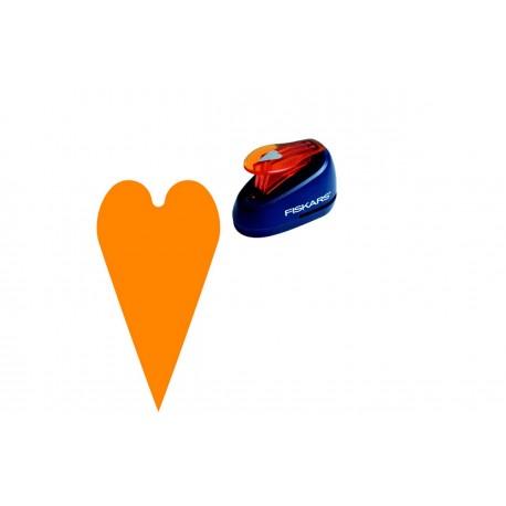 Дырокол фигурный: Сердечко 1,9см (S) Fiskars 5464F