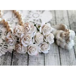 Роза Мальбери, цвет белый, 1 цветок