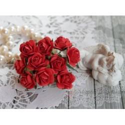 Роза Мальбери, цвет красный, 20мм, 1 цветок