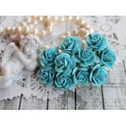 Роза Мальбери, цвет бирюзовый, 20мм, 1 цветок