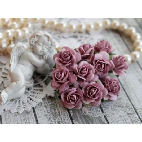 Роза Мальбери, цвет лиловый, 20мм, 1 цветок