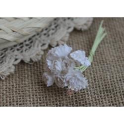 Гипсофила, цвет белый,  10мм, 10 цветочков
