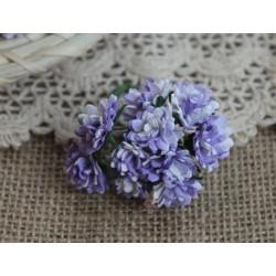 Астра, цвет лиловый,  15мм, 1 цветочек