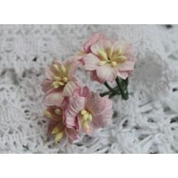 Цветок яблони, цвет нежно-розовый, 2см, 1 цветочек