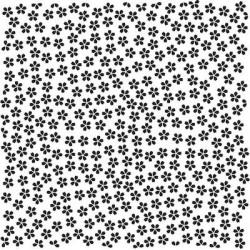 """Фоновая папка для тиснения 150x150 """"Маленькие цветочки"""""""