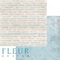 """Лист бумаги для скрапбукинга """"Главные слова"""", коллекция """"Воспоминания"""", 30х30, плотность 190 гр"""