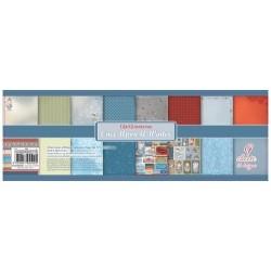 Набор бумаги для скрапбукинга 30,5х30,5 см 190 гр/м Однажды Зимой, 9 листов