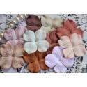 Набор цветов гортензий Винтажный микс, 10 цветочков